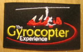 Gyrocopter Experience Cloth Badge
