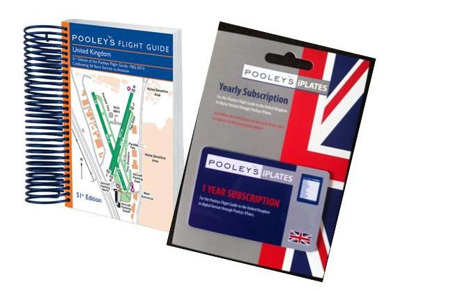 Pooleys 2018 UK Flight Guide (Guide & iPlates Bundle)