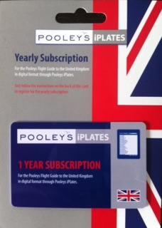 Pooleys 2018 UK Flight Guide (iPlates)