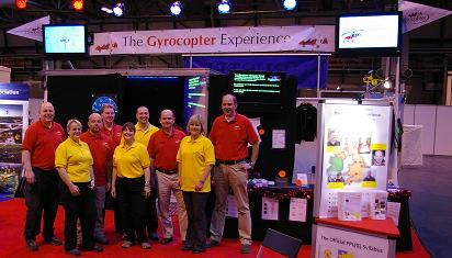 The Gyrocopter Experience Team