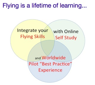 Flying is a lifetime of learning