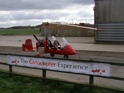 Photo of the day: The Gyrocopter Experience